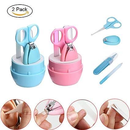 Kit de manicura para bebé, 4EVERHOPE, 2 unidades de cortauñas para ...