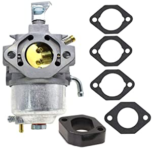 TOPEMAI 715670 Carburetor for Briggs & Stratton 185432 185432-0271-E1 715671 715668 Engine with Gaskets