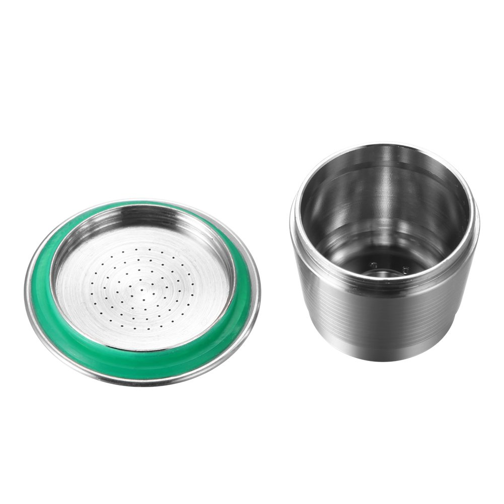 Coffee Capsule, Refillable Reusable New Stainless Steel Metal Capsules Cup, Empty Coffee Capsule Filter for Nespresso Coffee Machine by Powstro (Image #5)