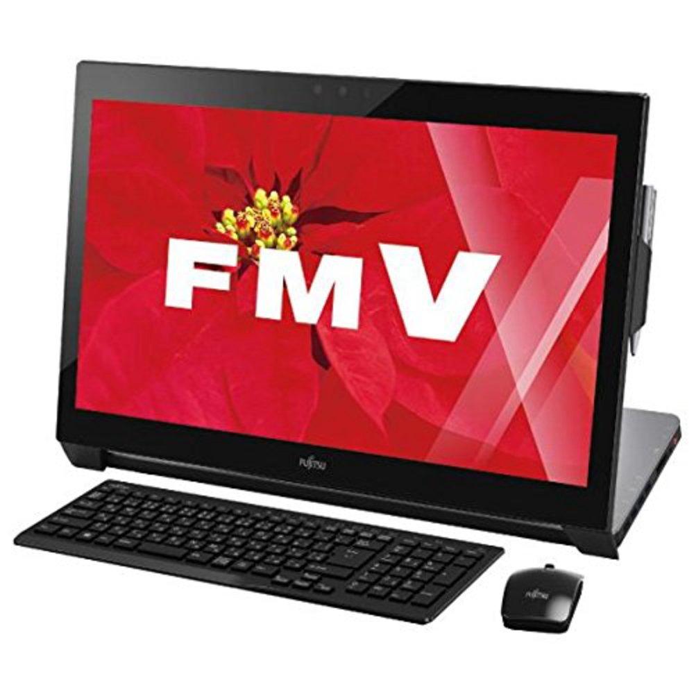 富士通 一体型デスクトップパソコン ESPRIMO シャイニーブラック FMVW77WB   B015QUAOG8