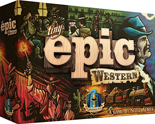 Tiny Epic Western Boardgame - Western End