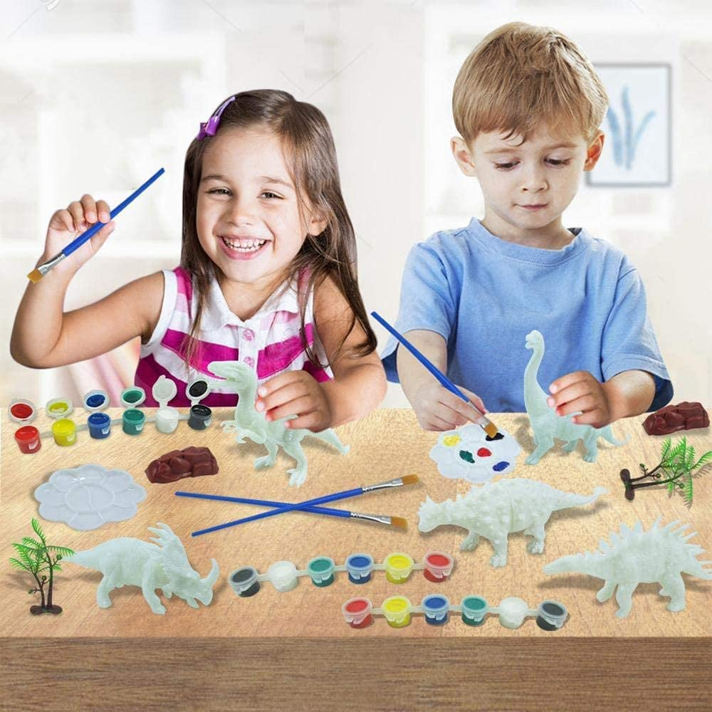 Best Gift for Boys and Girls KIMMI DIY Painting Dinosaurs for Kids Boys