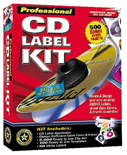 AmazonCom Professional Cd Label Kit