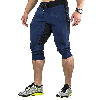 Hombres Pantalones Cortos de los Deportes Pantalones para Hombre ...