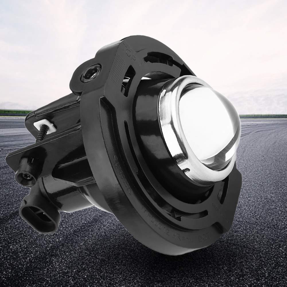 55 W Beifahrer-Seitenleuchte und Gl/ühbirne Kimiss Nebelscheinwerfer rund 12 V