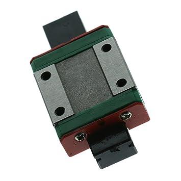 Miniature MGN12C Slide Block Steel para Impresora 3D CNC, Pequeño ...