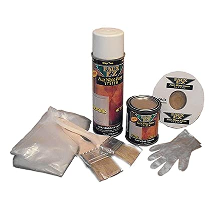 Faux Ez Do It Yourself Natural Grain Faux Wood Finish Kit