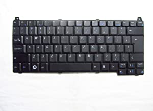 KinFor Product, Keyboard for DELL Vostro 1520 J483C Y858J 1320 US + Clear Protector Cover