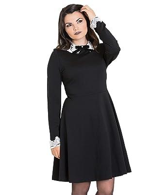 Alternative Spitzenkragen KleidBekleidung Bunny Hell Ricci dCxBore