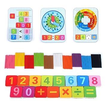Amazoncom Montessori Toys Learning Math Educational Materials