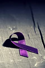 Purple Ribbon Domestic Violence Journal: A Dot Grid Journal for Healing from Abuse Paperback