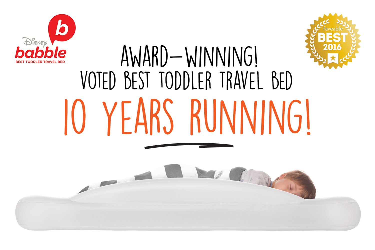 The Shrunks Toddler Travel Bed Portable Inflatable Air ...