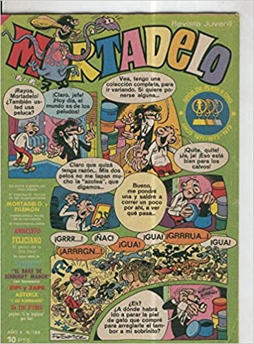 Mortadelo revista semanal numero 188: Varios: Amazon.com: Books