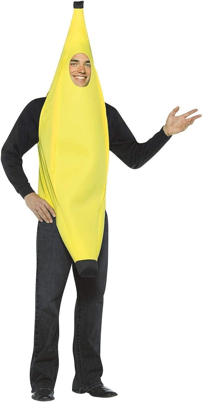 Rasta - Disfraz de plátano adultos, talla L (301OS): Amazon.es ...