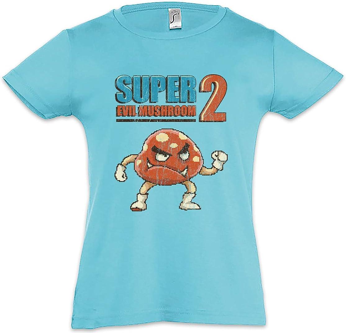 Urban Backwoods Super Evil Mushroom 2 Kids Girls Children T-Shirt