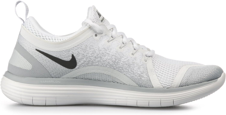Nike Mens Free RN Distance 2 Running, Zapatillas Deportivas para Interior para Hombre, Multicolor (White/Black-Pure Platinum-Wolf Grey), 49.5 EU: Amazon.es: Zapatos y complementos
