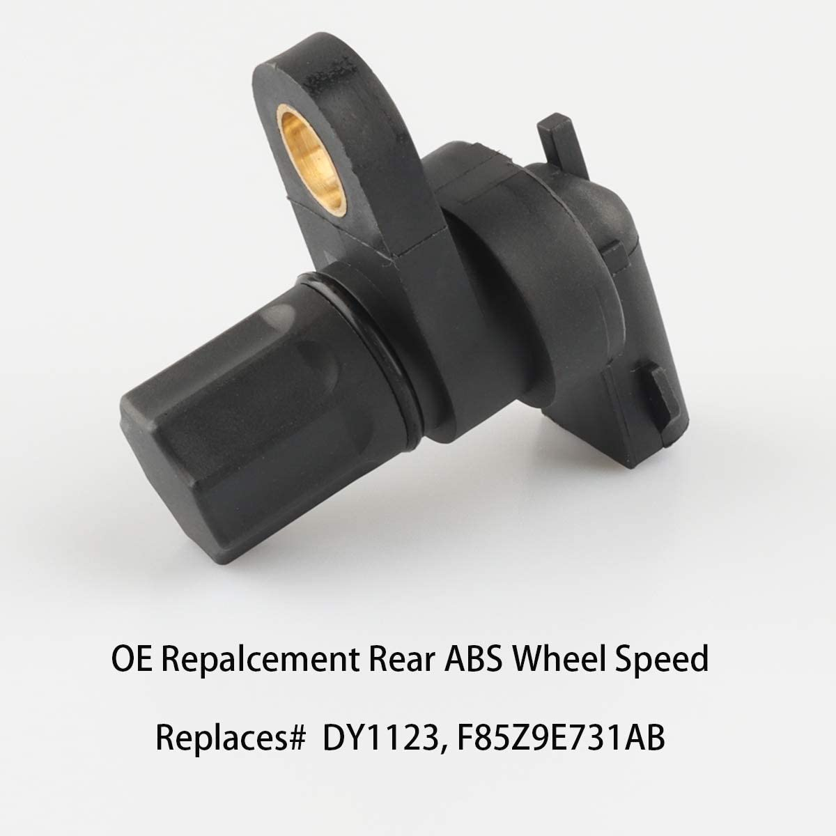 Mazda ABS Wheel Speed Sensor Rear DY1123 Compatible with 1990-2007 Ford E-150 250 350 F-150 250 350 450 550 Explorer Expedition 1994-1997 Dodge Ram 1500 Pickup F85Z9E731AB F85Z2L373AB