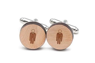 Slender Man Gemelos, Gemelos de madera hecho a mano en los ...