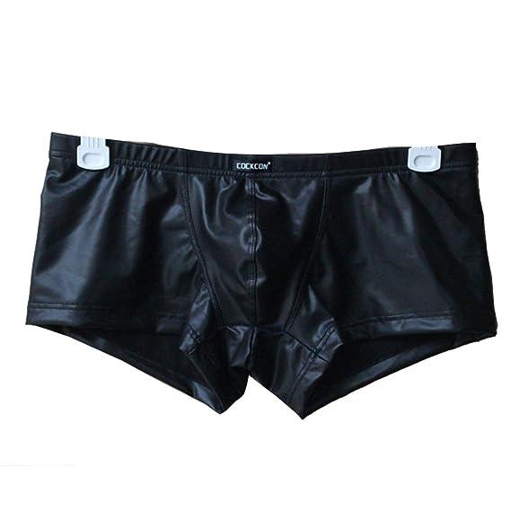 Vividda Hombres Wetlook Bañadores Boxer Shorts Ropa interior: Amazon.es: Ropa y accesorios
