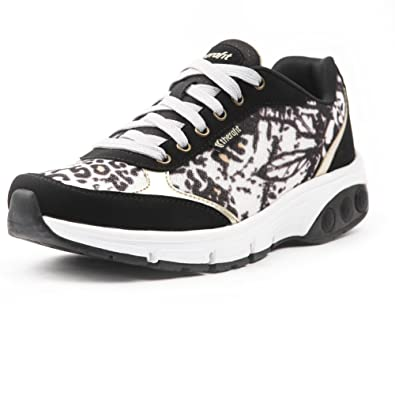 6a89ffc139 Amazon.com | Therafit Shoe Women's Ginger Printed Mesh Athletic Shoe |  Fashion Sneakers
