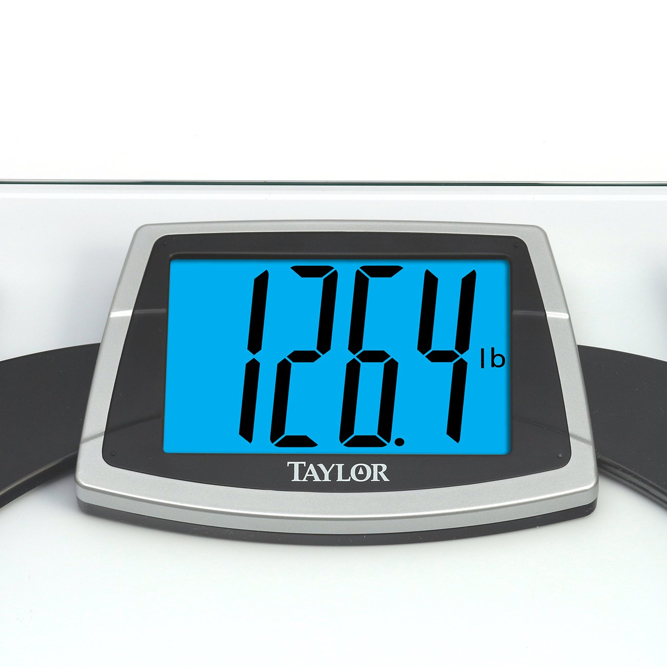 Amazon.com: Taylor Tempered Glass Scale with Huge Lighted Readout ...