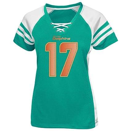 1e3ea243 Amazon.com : Ryan Tannehill Miami Dolphins Womens Aqua Draft Him IV ...