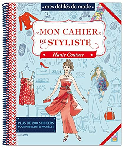 Lire des livres électroniques en ligne Mon cahier de styliste Haute Couture CHM by Karine Thiboult