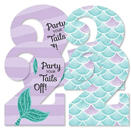 Amazon 2nd Birthday Lets Be Mermaids