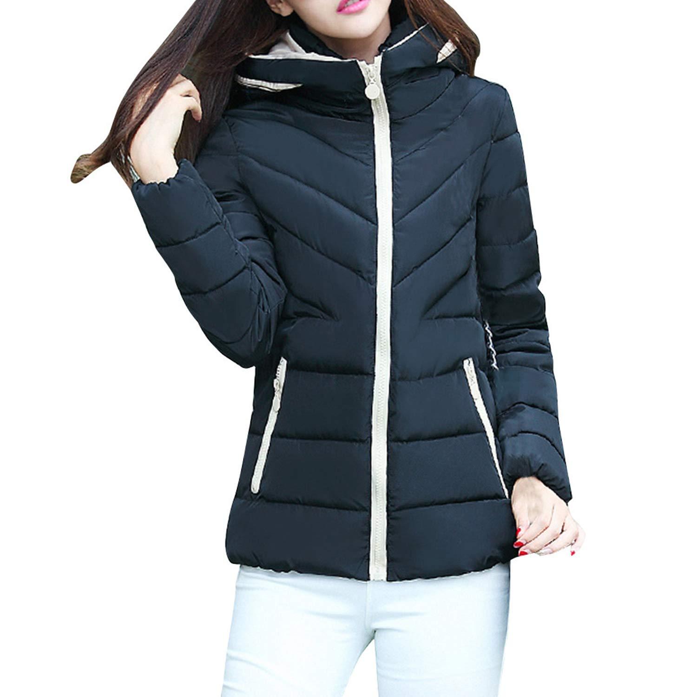 dextrad fashion-hoodies Winter Coat Women Hooded Thick Warm Plus Size Parka Femme Short Jacket