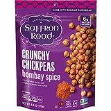 Saffron Road Chickpeas Bombay Spice Crunchy 6 Oz (Pack Of 8)