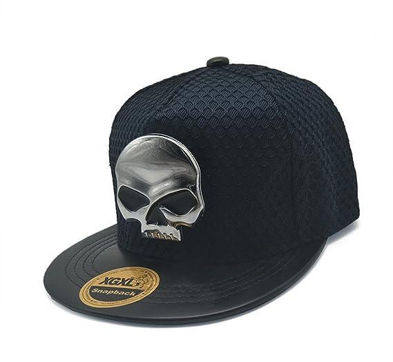 Amazon.com  TESOON Unisex Snapback Hats Canvas Flat Brim Cap ... a6760da49d6c