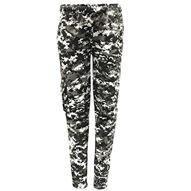 Game Mens CAMO URBAN Jogging Bottom Army Camo Joggers Trousers Military Hunting