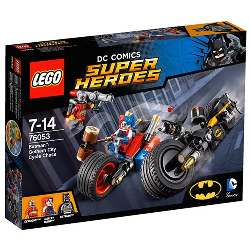 LEGO SUPER HEROES: GOTHAM CITY CYCLE CHASE (Lego Batman 2 Sets compare prices)