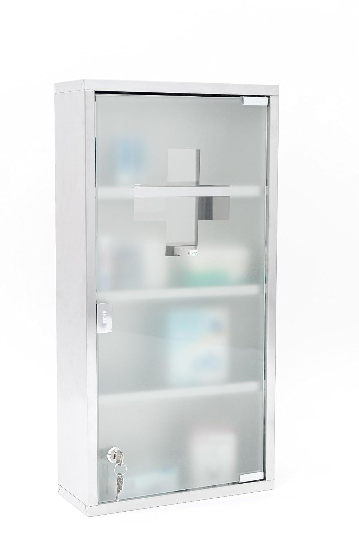 Intercube 75x30cm Design Medizinschrank Arzneischrank Edelstahl ...