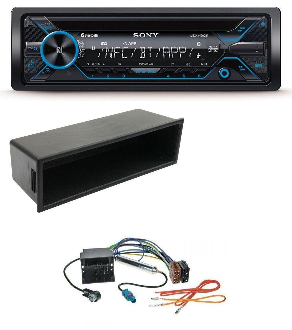 caraudio24 Sony MEX-N4200BT CD Bluetooth USB Aux MP3 Autoradio fü r VW Polo Lupo Fox Passat T5
