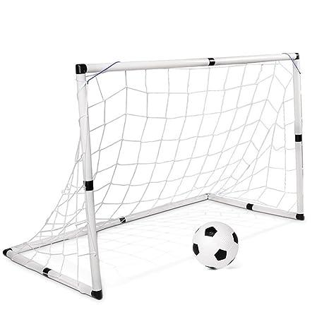 Red De GOL De Balón De Fútbol Plegable con Fútbol Y Bomba, Juego ...