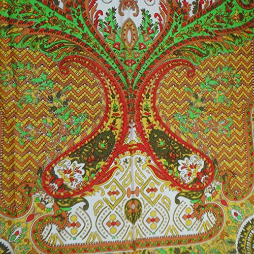 con Sciarpe marrone collo in lungo leggera a seta x pollici floreale moda 29 Sciarpa stampa Sciarpe 76 pura UHHtqx