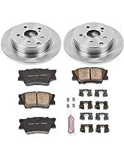 Amazon Com Rotors Brake System Automotive Front Rear