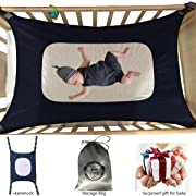 Baby Hammock for Crib Mimics Womb Newborn Bassinet Upgraded Safety Measures Infant Nursery Travel Bed Reduce Environmental Risks Associated with Early Infancy Shower Gift