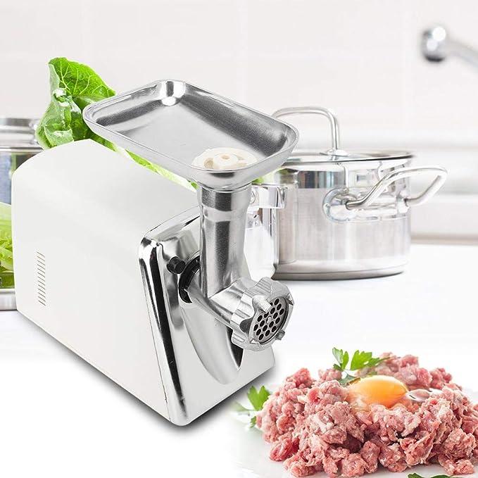 Máquina para picar carne no tóxica de la máquina para picar carne eléctrica 220V de la UE para el restaurante casero de la cocina: Amazon.es: Hogar