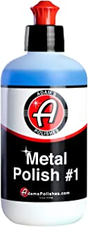 product image for Adam's Metal Polish - for Aluminum, Chrome, Stainless, Uncoated Metals & Other Auto Part Accessories - Polish #1 Restores Neglected Metals - Polish #2 Achieves Perfection (Metal Polish #1)