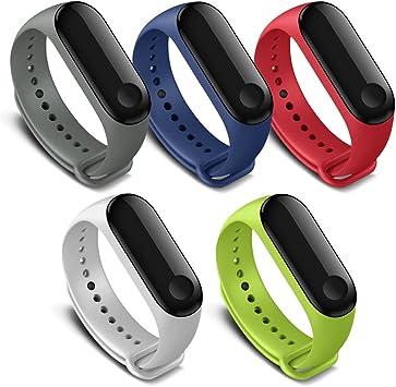 FUNKID - Correa de Repuesto para Xiaomi 3 Smartwatch Pulseras de ...