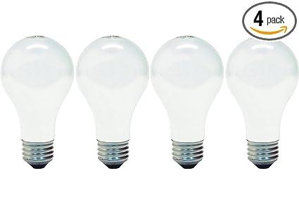 GE Lighting 66249 Soft White 72-Watt, 1270 Lumen A19 Light Bulb with ...