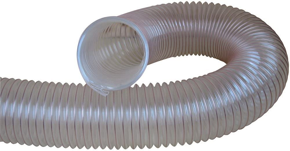 Flexible Hose For Dust Extraction /& Chip collection Charnwood 100FLEX 3m Length of 100mm Internal Diameter