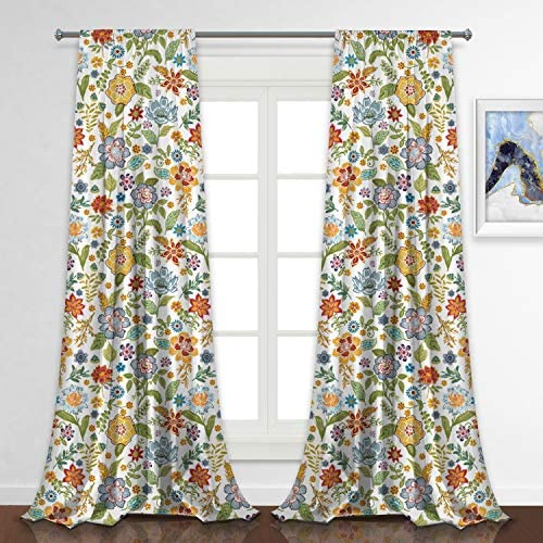 Reviewed: RosieLily Floral Curtains Flower Curtains Sydney Curtains Colorful Curtains