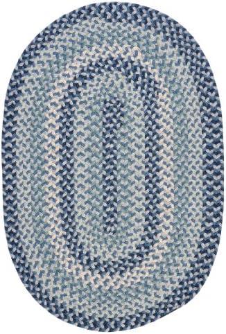 Joy Carpets 623QQ-01 Just Kidding Classroom Oval Rug44 Cobalt Blue – 6 x 9 in.