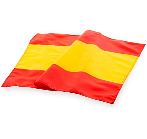 NEWTORO Bandera de España sin Escudo 90 * 60 cm: Amazon.es: Deportes y aire libre
