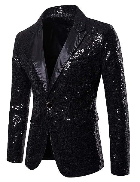 Chenshijiu Men S Christmas Party Blazer Funny Xmas Party Suit Jacket