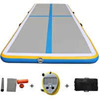 Inflable Aire Track Air Tumbling Tatami Air Floor–para uso en casa, gimnasia, playa, de Capacitación sobre el agua longitud 299,7cm
