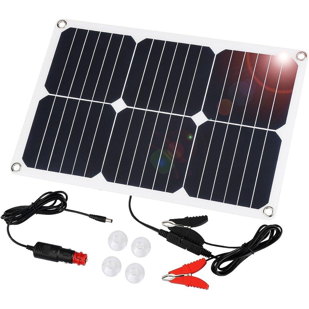 Ein Solar Ladegerät können Sie auch verwenden, um Ihre Autobatterie zu laden.